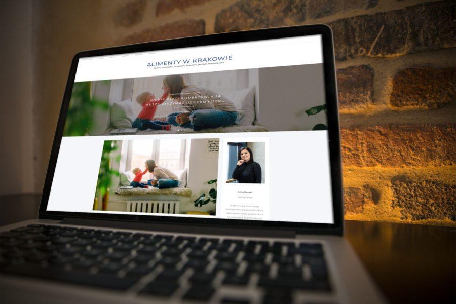 Realizacja: blog o prawie rodzinnym