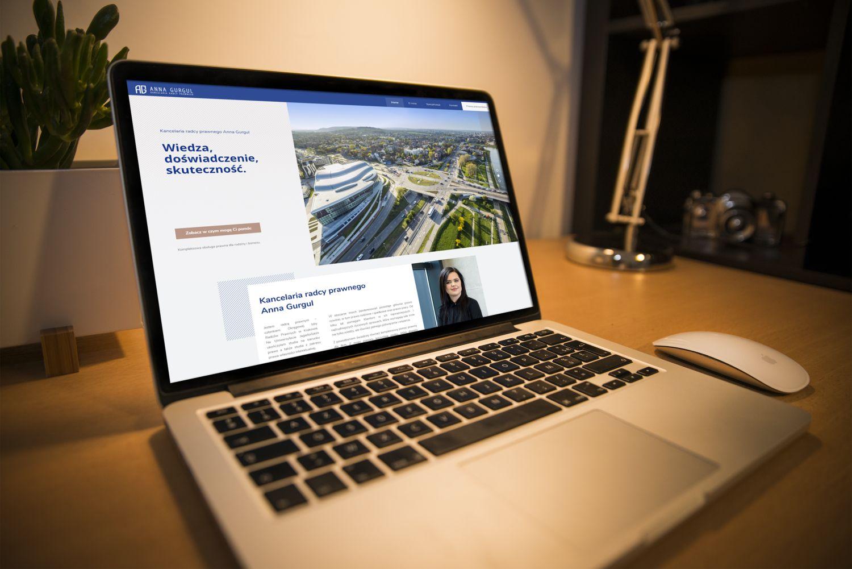 Realizacja: strona internetowa kancelarii radcy prawnego