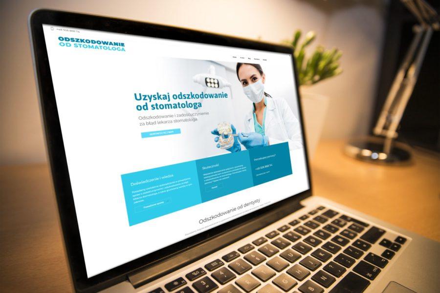 Realizacja: Strona www o odszkodowaniach