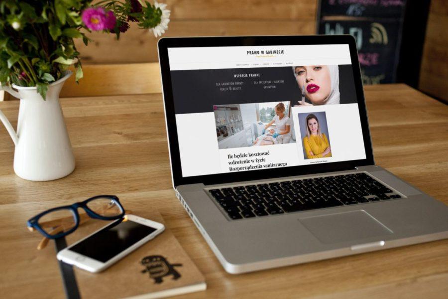 Realizacja: blog prawniczy dla kosmetologów